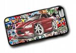 Koolart STICKERBOMB STYLE Design For Mk5 Ford Escort GTi Hard Case Cover Fits Apple iPhone 6 & 6s